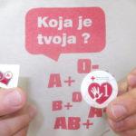 Aкције добровољног давања крви у августу