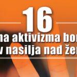 """ТВ Бачка/Vrbas.net – интернет портал општине Врбас: У току кампања """"16 дана активизма против насиља над женама"""""""