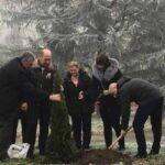 03/01/2020 Око нас:  Посађено дрво у част првог детета рођеног у 2020. години у ОБВ