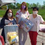 Подела беби поклона у  породилишту ОБВ у Недељи Црвеног крста